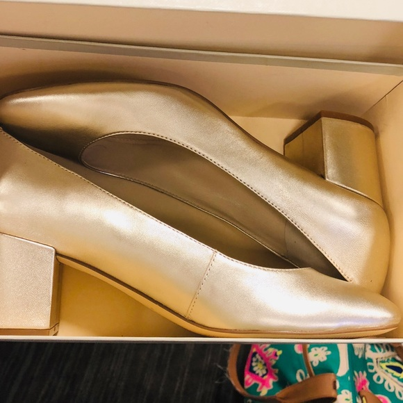 Marc Fisher Shoes - Marc Fisher gold heels